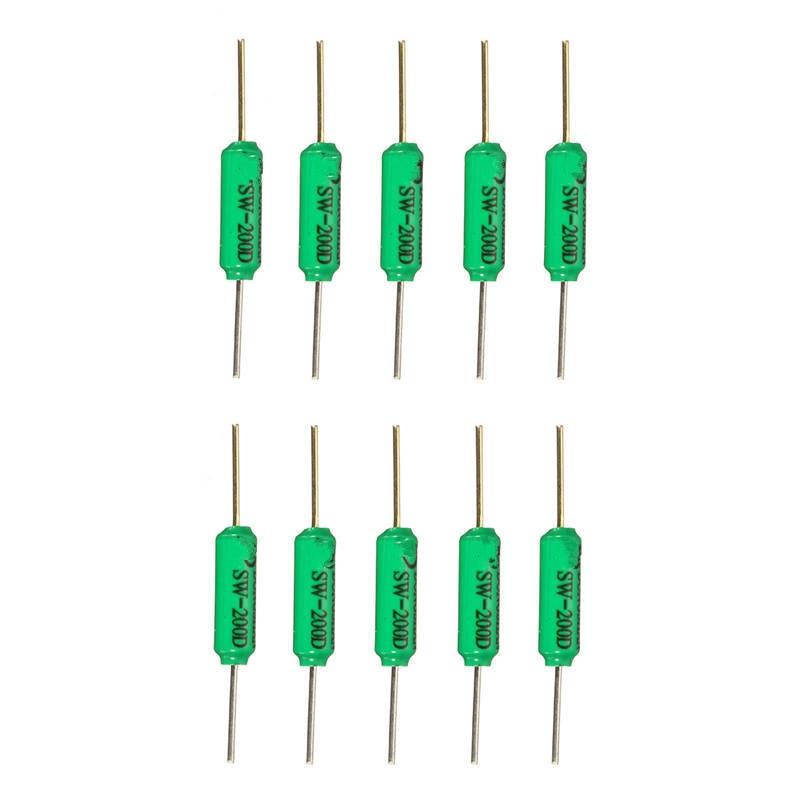 10PCS/lot  SW-200D Vibration switch Ball switch Tilt switch Double bead Angle Sensor Electronic Components Supplies Sensors