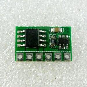 Image 5 - 10x 6A 3V 3.3V 3.7V 4.5V 5V 6V DC electronic switch Module Flip Flop Latch Bistable Self locking Trigger Board for solar panel