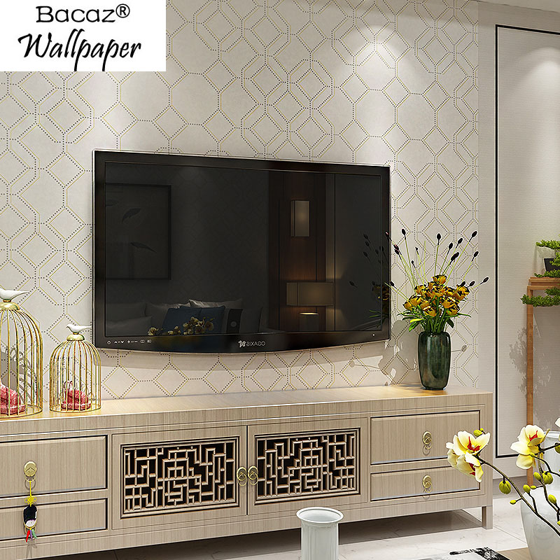 Luxury Silk Chinese style Copper cash wallpaper Rolls for TV Sofa Background Grid Lattice 3d Wall paper Roll 3d Wallcoverings акриловые обои hits wallcoverings vintage luxury sz001534