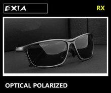 Prescription Sunglasses Men Polarized HMC Lens Grey Brown Green Night Vision Yellow EXIA OPTICAL KD-337
