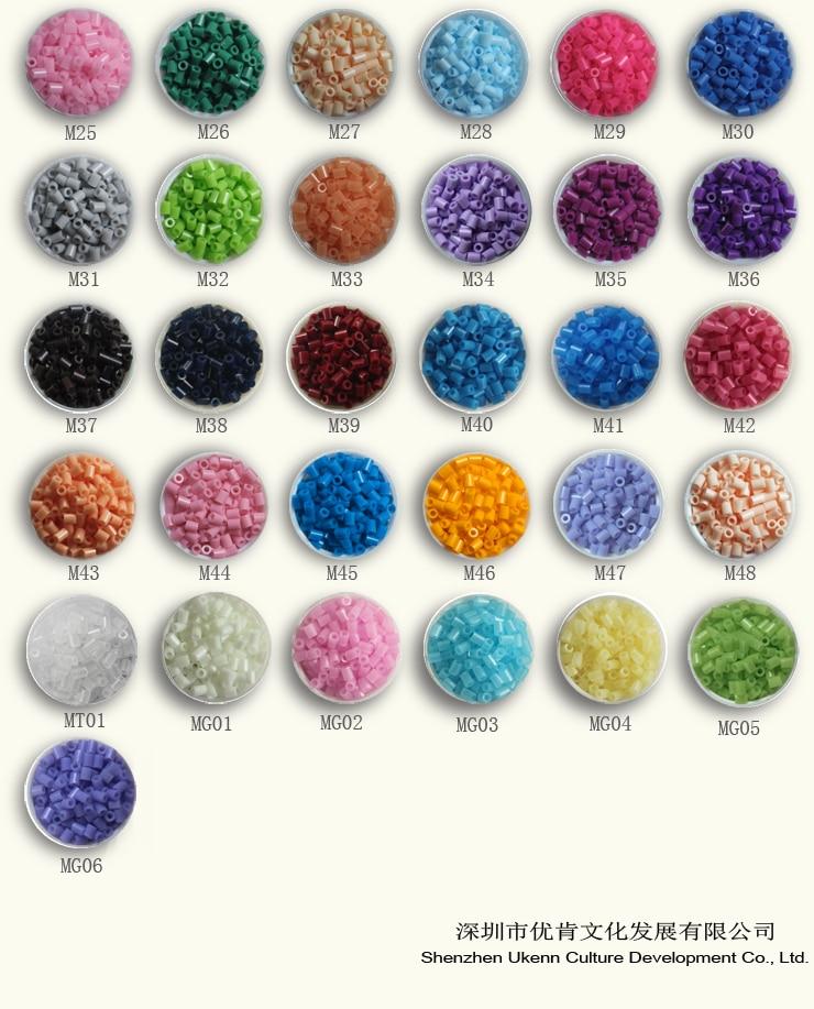Besplatna dostava 1 lot / 10bags 3mm mini hama perle 1000pcs / bag 50 - Igre i zagonetke - Foto 3