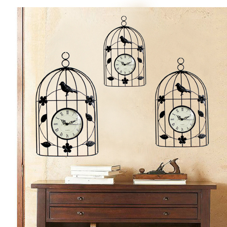 oiseau horloge murale achetez des lots petit prix oiseau horloge murale en provenance de. Black Bedroom Furniture Sets. Home Design Ideas