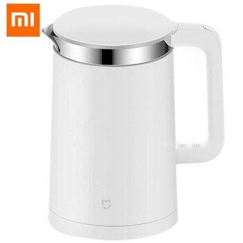 Original Xiaomi Constant Temperature Control Electric Water Kettle Mi home 1.5L 12 Hours Thermal Insulation teapot Mobile APP
