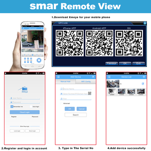 Image 5 - Smar 5 w 1 16CH 1080N AHD DVR hybrydowe wideorejestrator wsparcie 1080P kamera AHD 3MP 5MP kamera IP CCTV System alarmowy do domu Onvif