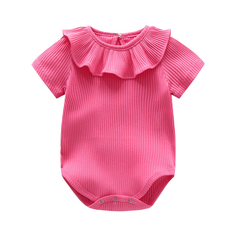 Baby Rompers Summer Baby Girl Clothes 2017 Baby Girl Clothing Sets Newborn Baby Clothes Roupas Bebe Infant Jumpsuit Kids Clothes cotton baby rompers infant toddler jumpsuit lace collar short sleeve baby girl clothing newborn bebe overall clothes