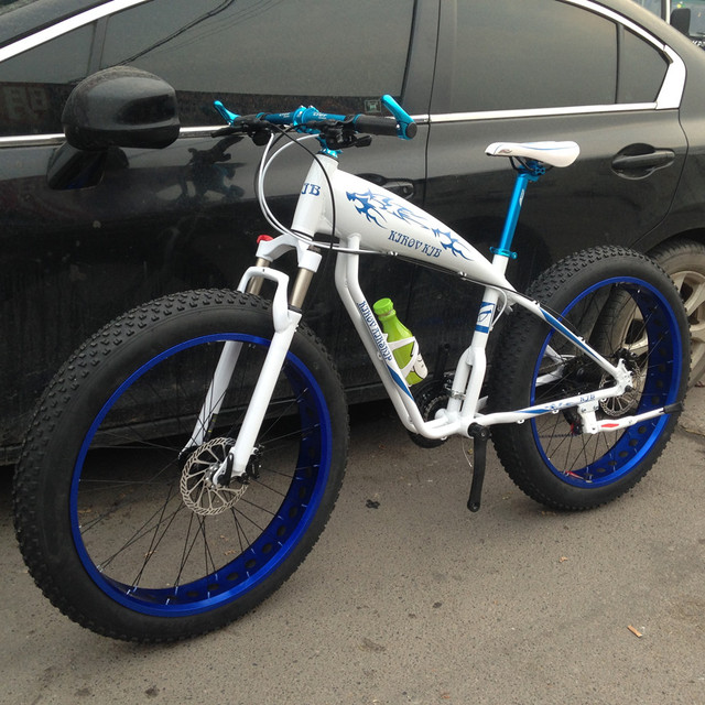 21/24/27/30 speed snow bike big wheeles fat bike  Aluminum alloy double disc brake oil brake