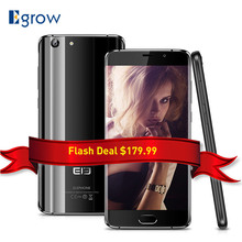 Original Elephone S7 MTK Helio X20 Deca Núcleo Android 6.0 Móvil teléfono 5.5 Pulgadas Del Teléfono Celular 4G RAM 64G ROM Smartphone de Huellas Digitales