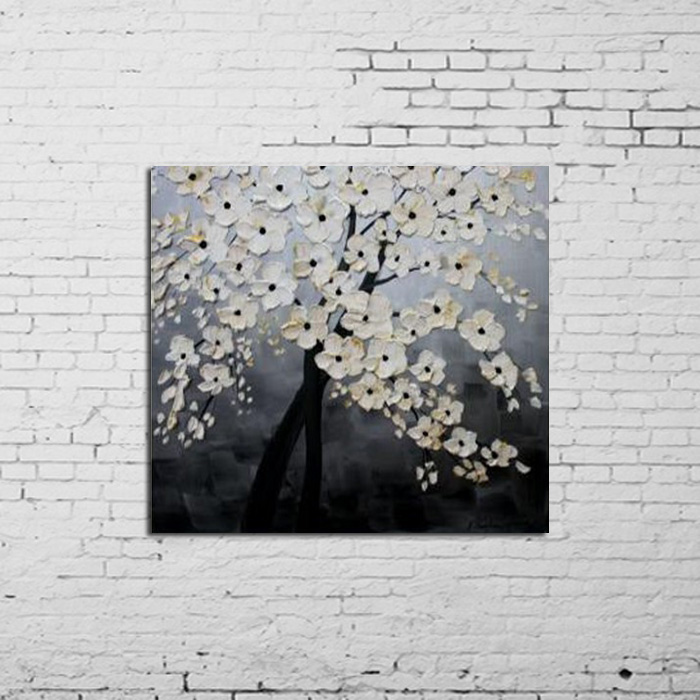 Free shipping High quality knife oil paintings on canvas 100% large canvas wall art home modern painting large living room