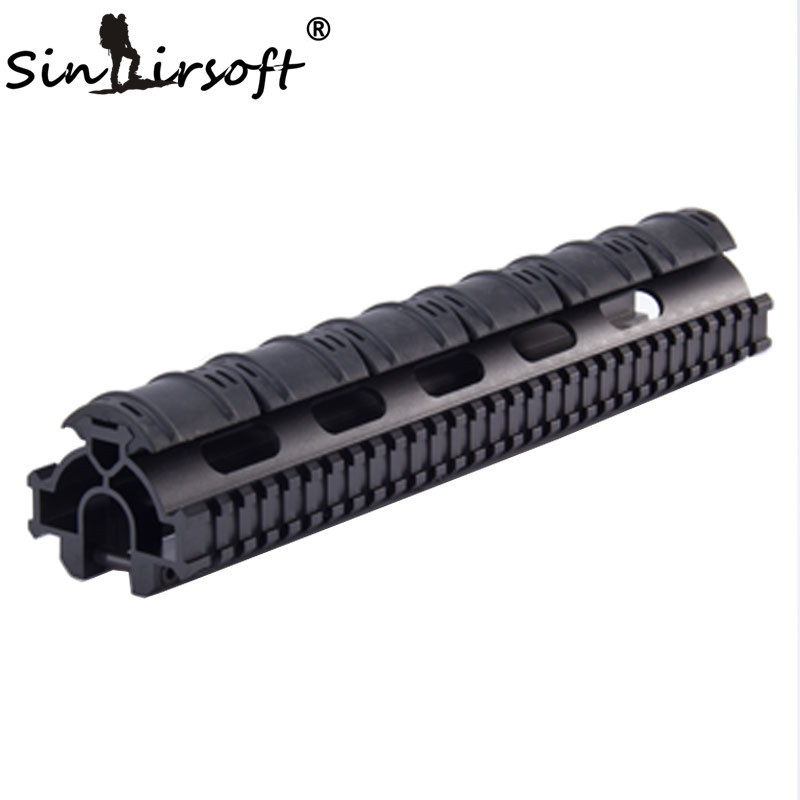 SINAIRSOFT One-Piece Tactical Tri-Rail Handguard Rail Scope Mount System For HK G3, 91, PTR-91 and Compatibles MNT-TG3TR new gen sks picatinny tri rail mount mnt 640triii black rapid transit
