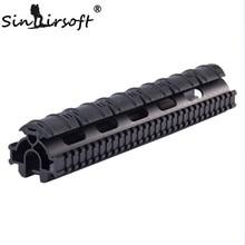 Sinairsoft una sola pieza sistema de montaje del alcance del carril táctico tri-rail guardamanos para g3 hk, 91, PTR-91 y Compatibles MNT-TG3TR