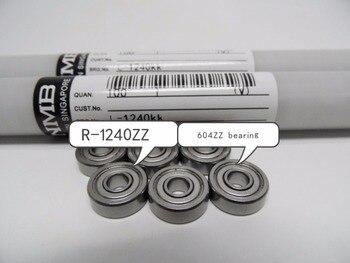 NMB Minebea 20 ADET 604ZZ/R 1240ZZ sabit bilyalı rulmanlar 4*12*4mm 604ZZ rulman R 1240zz yüksek kaliteli|Rulmanlar|Spor ve Eğlence -