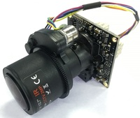 SSICON 2MP 2.8 12mm Motorized Lens AHD Camera Moudle 1080P Auto Varifocal Zoom Analog Camera Chipset Board