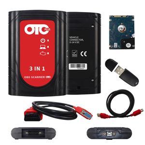Image 2 - OTC Plus 3 in 1 Strumenti di Diagnostica techstream consultare 3 plus otc scanner ForNissan /Tyota/Volvo vida dadi OBD Scanner GTS Con HDD