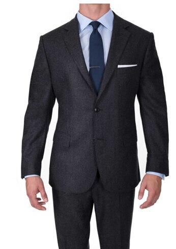 Роскошные шерстяной костюм Для мужчин индивидуальный заказ Супер 120 шерсть Костюмы, Для мужчин Бизнес костюмы, заказ Нарядные Костюмы для с...