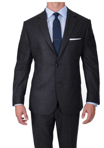 Image 1 - بدلة صوف فاخرة للرجال مصنوعة حسب الطلب سوبر 120 بدلة صوف s ، بدلة عمل للرجال مصممة خصيصا ، بدل زفاف مفصل للرجال