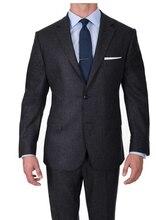 Traje de lana de lujo para hombres trajes de lana Super 120 hechos a medida, trajes de negocios para hombres hechos a medida, trajes de boda a medida para hombres