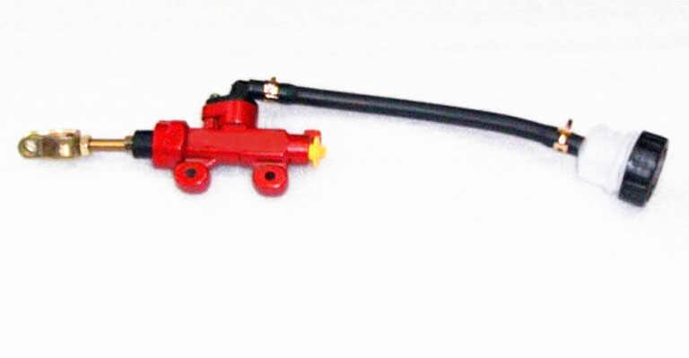 Rouge frein pièces moto performance pompe moto rcycle refeux huile tasse avant cylindre pompes