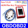 AK90 For BMW Key Programmer Newest V3.19 Car Key Maker Professional For BMW All EWS Version 2.1/2.2/3/3.3/4/4.4 AK90 Plus
