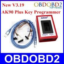AK90 Pour BMW Programmeur principal Date V3.19 Clé De Voiture Fabricant Professionnel Pour BMW Tous Les EWS Version 2.1/2.2/3/3.3/4/4.4 AK90 Plus