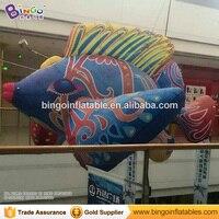 3 м/10ft надувные рыбы модель летучей рыбы надувные висит с изображениями из мультфильма «В поисках Немо Долли рыбный шар с вентилятором для в