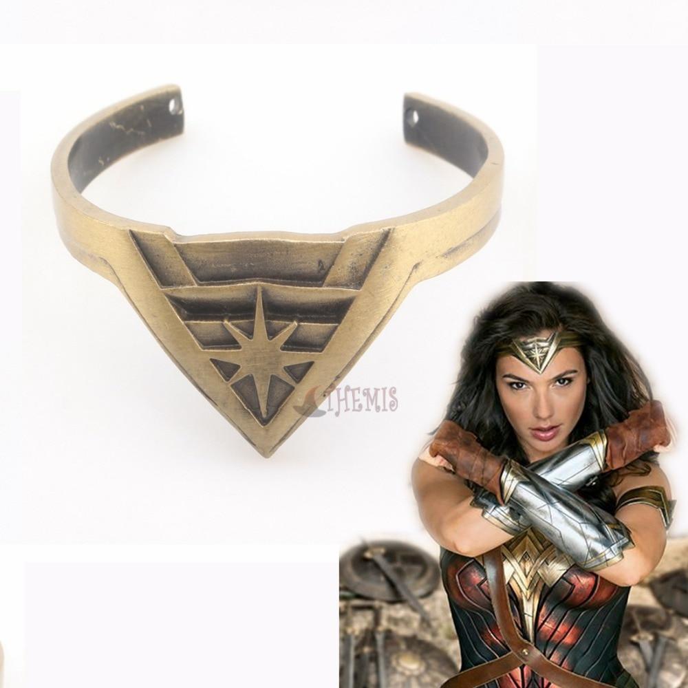 Athemis Movie Cosplay  Wonder Woman cosplay badge accessories bracelet