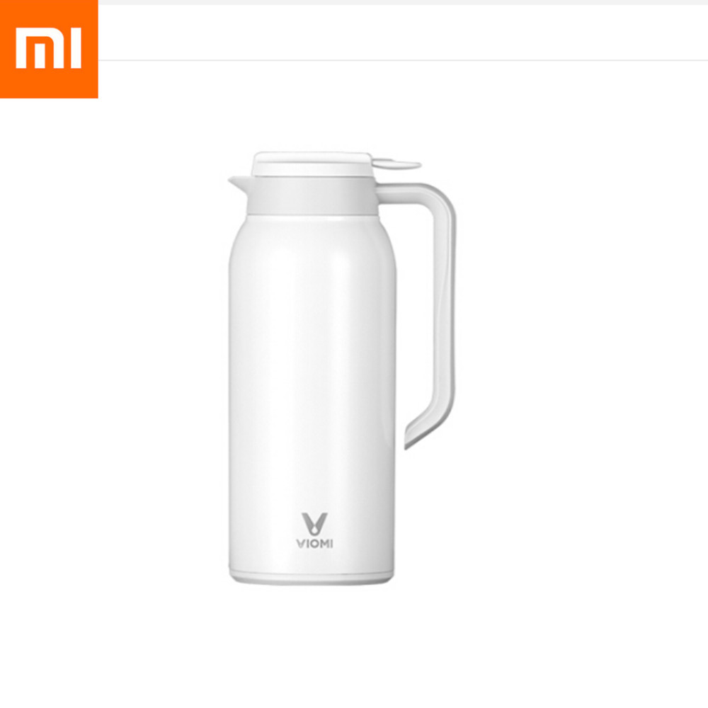 Original Xiaomi Mijia VIOMI 1.5 L Kettle Vacuum Cup Portable Stainless Steel Ergonomic Anti-skid Base Vacuum Flask Thermos #3Original Xiaomi Mijia VIOMI 1.5 L Kettle Vacuum Cup Portable Stainless Steel Ergonomic Anti-skid Base Vacuum Flask Thermos #3
