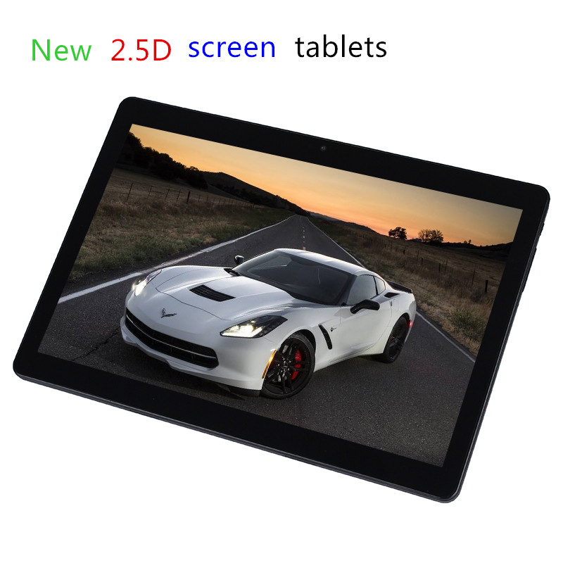 New 2.5D screen 10 inch MTK8752 Octa Core 3G WCDMA Tablet pc 4G RAM 32G ROM 1280*800 IPS Android 5.1 WIFI bluetooth GPS tablets created x8s 8 ips octa core android 4 4 3g tablet pc w 1gb ram 16gb rom dual sim uk plug