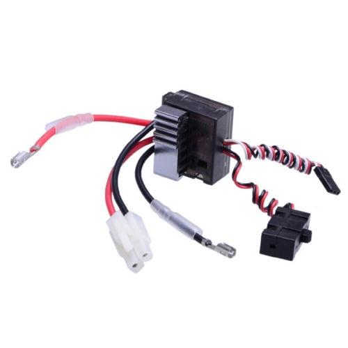 Electric speed RC Controller ESC 1/10 RC Rock cralwer cross 6x6 Tamiya Hilux Bruiser G2 TF2 SCX10 D90 Cruiser/FJ40 RC8WD Axial(China)