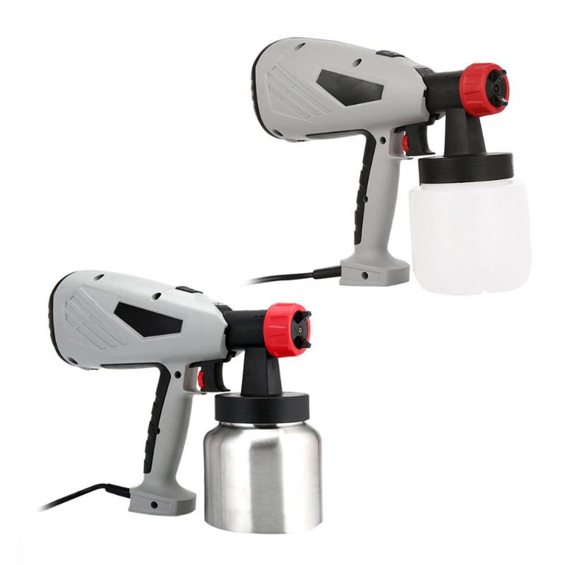 Electric Spray Gun 800ml Cup Detachable High Voltage Electric Painting Spray Gun Cake Chocolate Paint Sprayer sat500 lvmp spray painting gun high pressure spray bottle cup gun paint sprayer