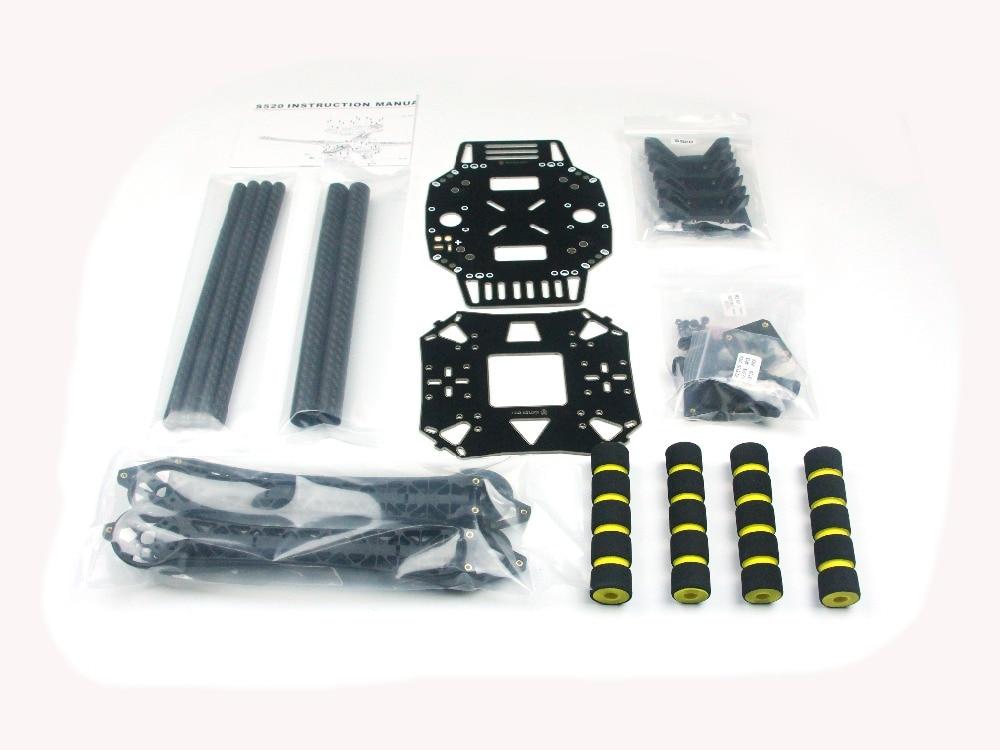 ღ Ƹ̵̡Ӝ̵̨̄Ʒ ღJmt s520 S600 Super brazo duro 4 eje rack quadcopter ...