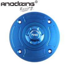Motorcycle New CNC Aluminum Fuel Gas CAPS Tank Cap tanks Cover With Rapid Locking For DUCATI 848 & 1098