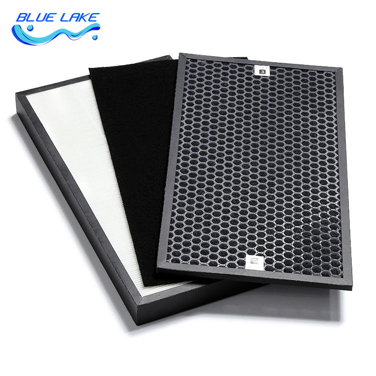 Replace supplies,F-PDF35C filter sets, HEPA Activated carbon filter,For Panasonic F-ZXFP35C VDG/VXG35C,air purifier accessories lacywear платье s 8 vdg