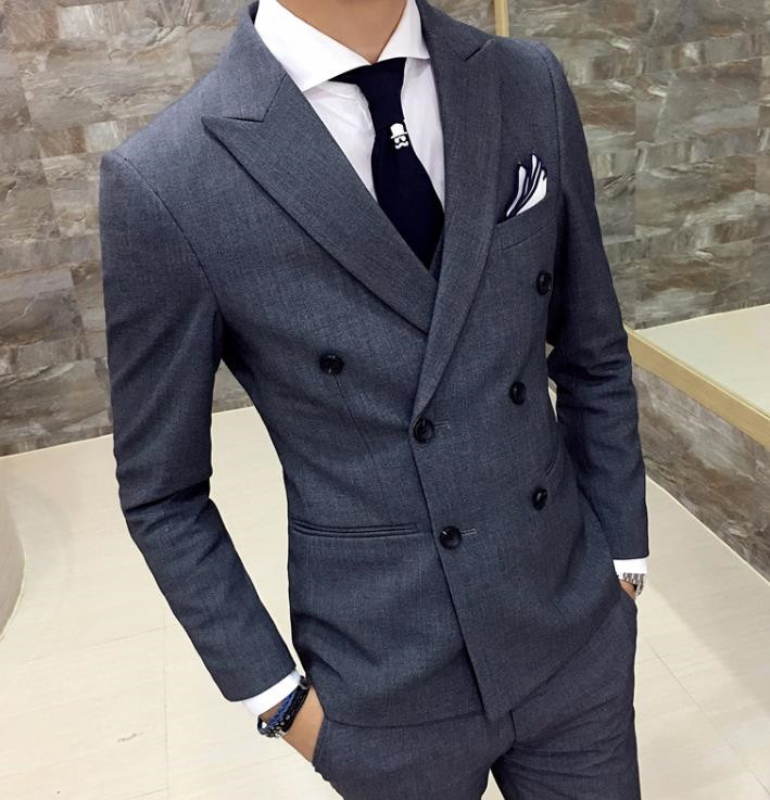 TPSAADE The latest burgundy men s wedding dress shirt design men s suit wedding dress 2
