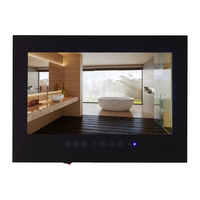 27 Inch 170 Positive Feedbacks IP66 1080P Waterproof Bathroom TV With Touch Buttons And Built In