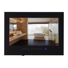 Souria 27 дюймов IP66 1080 P Водонепроницаемый Ванная комната с сенсорными кнопками и встроенные динамики подкладке водонепроницаемые светодиодный полный HD ТВ