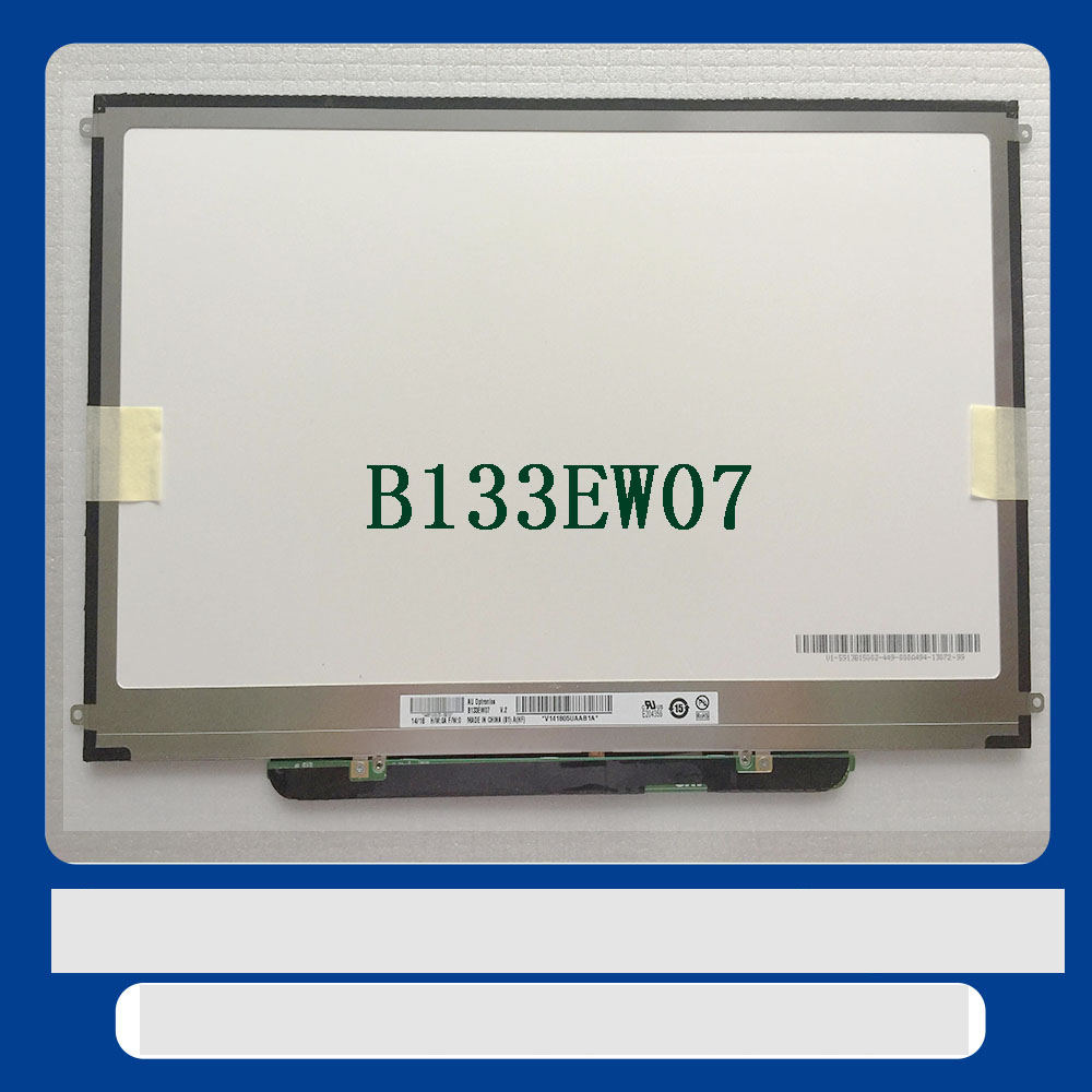 For Apple Macbook Pro A1278 A1342 LCD Display Replacement B133EW07 V.2 N133IGE-L41 B133EW04 LP133WX3 TLA6 LP133WX3 TLA5 LP133WX3 interface b133ew04 b133ew07 lp133wx2 n133i6 l09 13 3 inch lcd display led screen