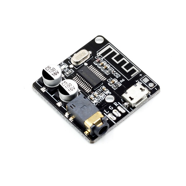 WAVGAT Bluetooth Audio Receiver board Bluetooth 4.1 mp3 lossless decoder board Wireless Stereo Music Module