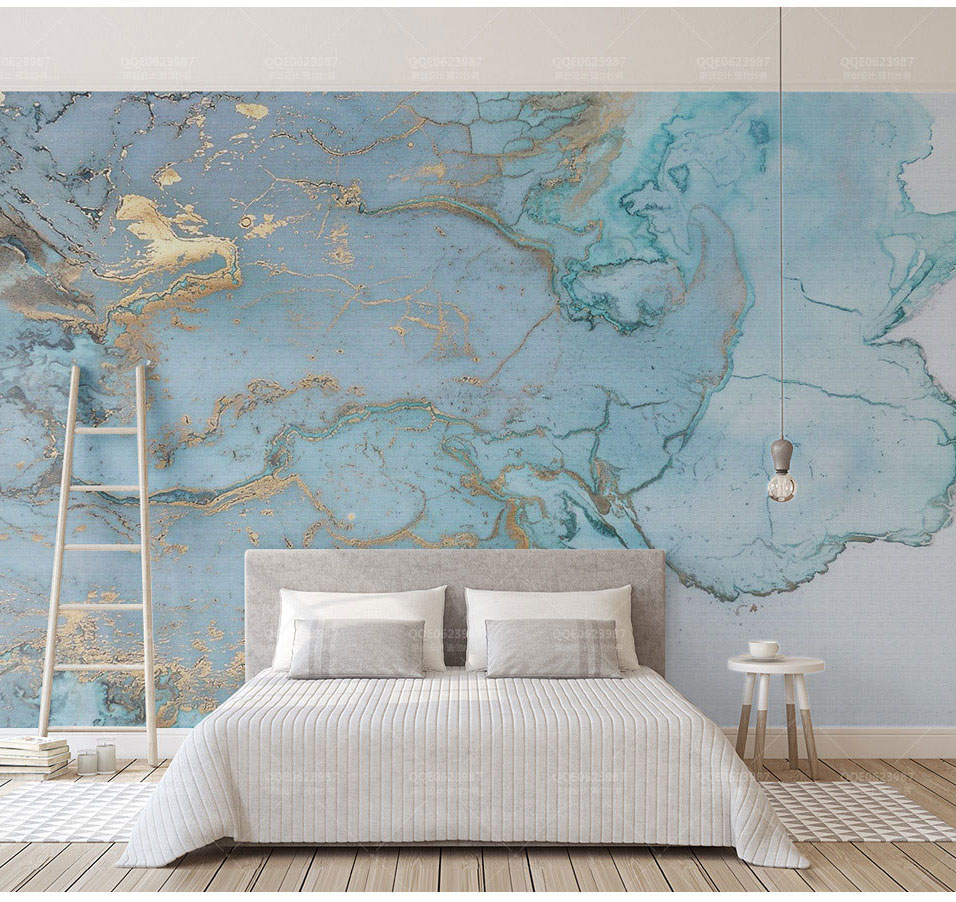 Great Wallpaper Marble Print - Luxurious-Gold-Print-Blue-Texture-Marble-Wallpaper-Murals-3d-Wall-Photo-Mural-for-Bedroom-3d-Wall  Gallery_463097.jpg