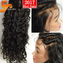 7A Full Lace Human Hair Wigs for Black Women Glueless Full Lace Wigs Brazilian Virgin Hair Deep Curly Lace Front Human Hair Wigs