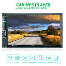 7 Inch 2 DIN Bluetooth In Dash HD Touch  Screen Car Video FM  Radio Stereo Player Mirror Link Aux In Car Rear View Camera 7 inch hd bluetooth auto car stereo radio in dash touchscreen 2 din usb aux fm mp5 player night vision camera remote control