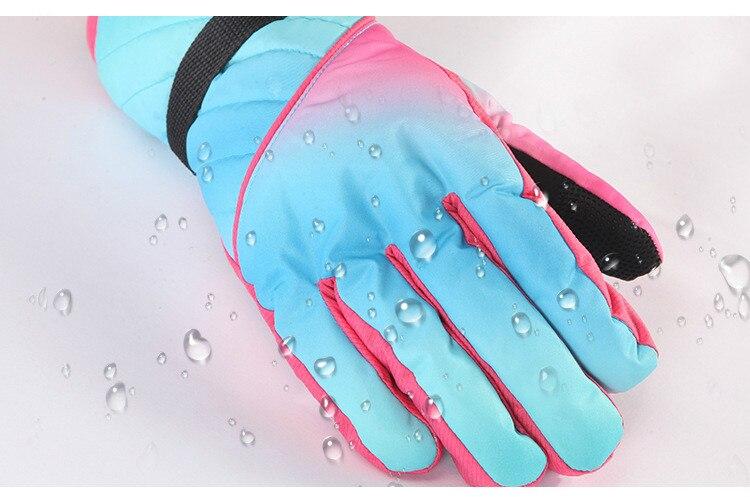 Luvas De Esqui de Inverno Anti Fria