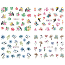 12 Designs Summer Mood Nail Stickers Set