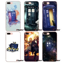 Pour Samsung Galaxy S2 S3 S4 S5 MINI S6 S7 edge S8 S9 Plus Note 2 3 4 5 8 Coque Fundas Tardis Box Doctor Who DW Coque de téléphone(China)