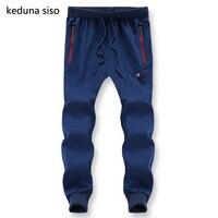 Plus Size L 8XL Mens Joggers Chino Pants Casual Fashion Slim Jogger Cotton Sweatpants Men Beam