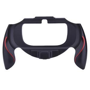 Image 3 - المضادة للانزلاق البلاستيك قبضة مقبض حافظة حامل قوس الغطاء الواقي لعبة اكسسوارات لسوني PSV PS Vita 1000 تحكم