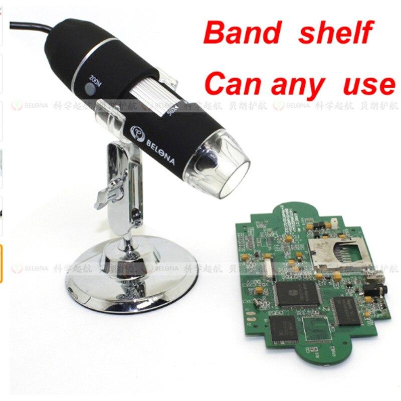 ФОТО Free shipping MUOU microscope 200X-800X magnification Electronic magnifier handheld digital microscope USB microscope