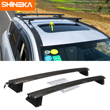 SHINEKA Roof Racks & Boxes For Jeep Grand Cherokee 2011-2016 Aluminum Alloy Car Roof Luggage Rack Cross Bars For Grand Cherokee
