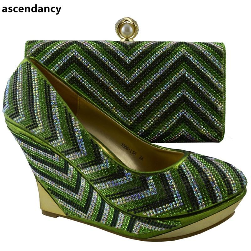 Italiano Africanos Oro Real Juego Italia oro Bolsas Mujeres Color De Negro Conjunto En azul Zapatos 2018 Partido Las verde orange A Bolsa El Y ZaAZgXcH