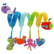 SHILOH neues Säuglingsspielzeug-Baby-Krippe dreht sich um den Bett-Spaziergänger, der Spielzeug-Auto-Drehbank-hängenden Babyrasseln spielt Mobile 0-12 Monate