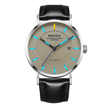 Top brand NEDSS luxury Tritium mens watches Miyota 9015 mechanical Watches sapphire 5ATM waterproof genuine Automatic watch